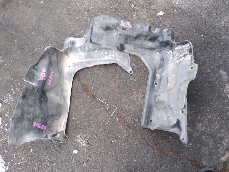 Защита двигателя Toyota Corolla NZE121 передняя (б/у)
