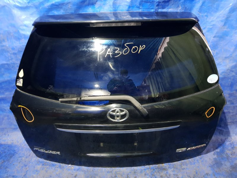 Дверь 5-я Toyota Corolla Fielder NZE141 задняя (б/у)