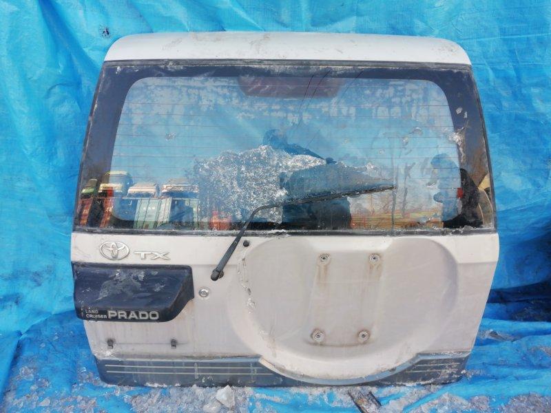 Дверь 5-я Toyota Land Cruiser Prado KDJ95 (б/у)