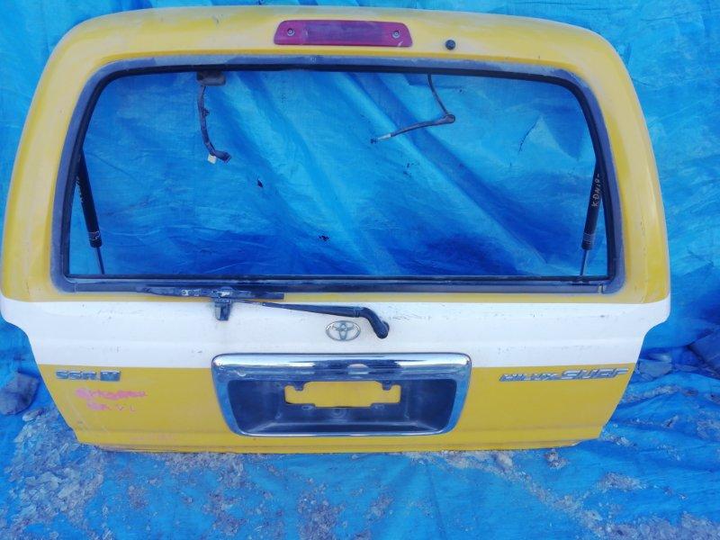 Дверь 5-я Toyota Hilux Surf KDN185 (б/у)