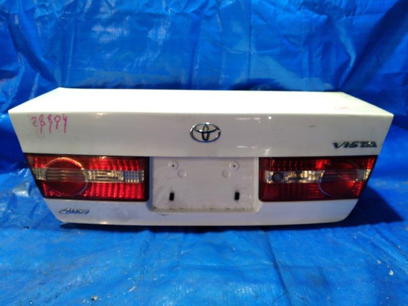 Крышка багажника Toyota Vista SV50 задняя (б/у)