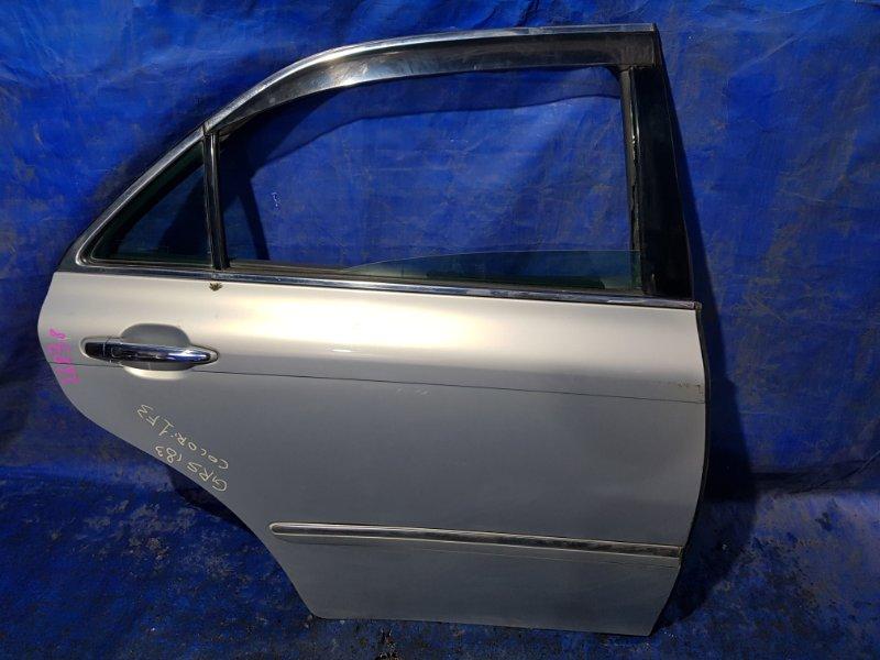 Дверь Toyota Crown GRS183 задняя правая (б/у)