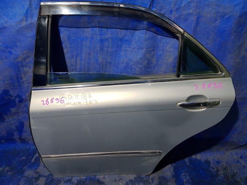 Дверь Toyota Crown GRS183 задняя левая (б/у)
