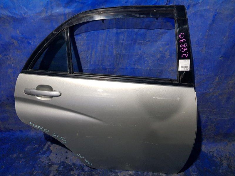 Дверь Toyota Verossa GX115 задняя правая (б/у)