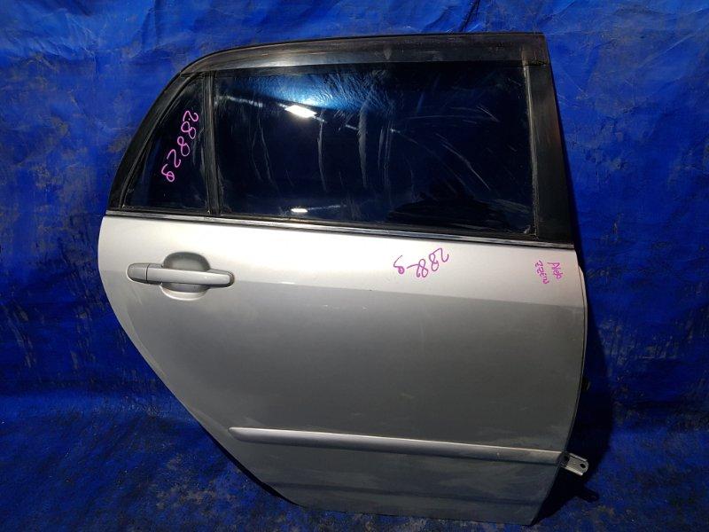 Дверь Toyota Allex NZE124 задняя правая (б/у)