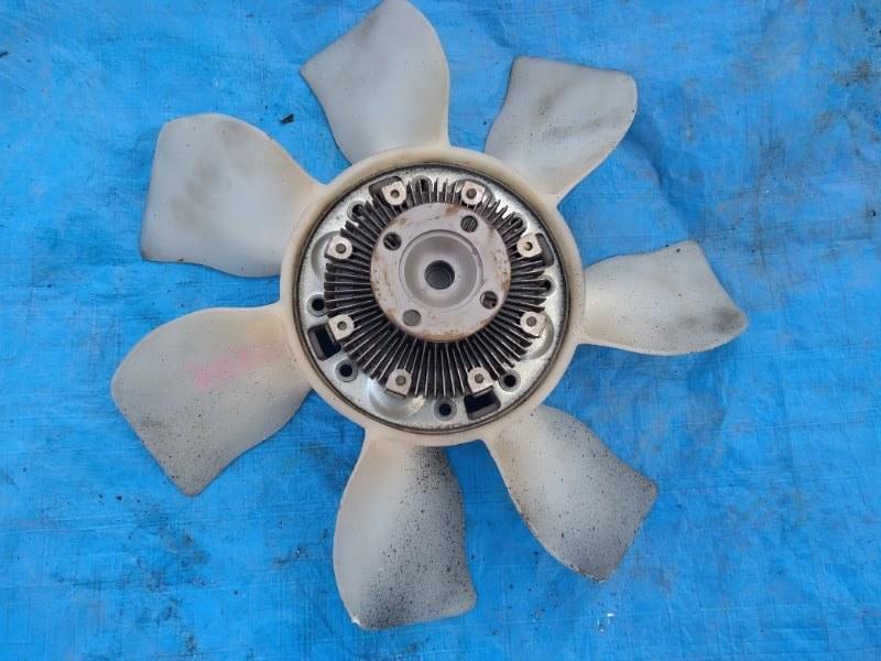 Вентилятор с вязкостной муфтой Toyota Mark Ii GX115 1G (б/у)
