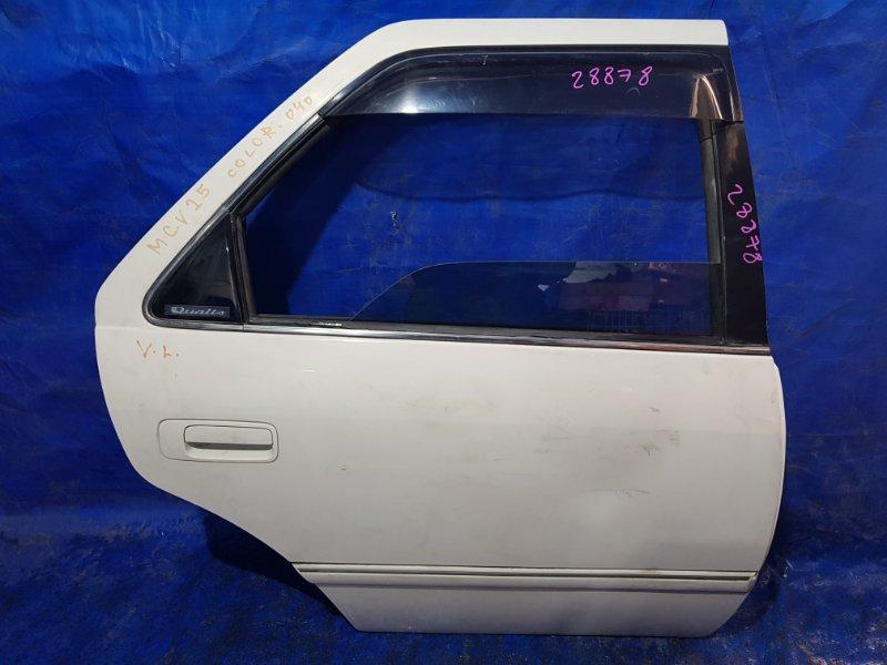 Дверь Toyota Mark Ii Qualis SXV20 задняя правая (б/у)