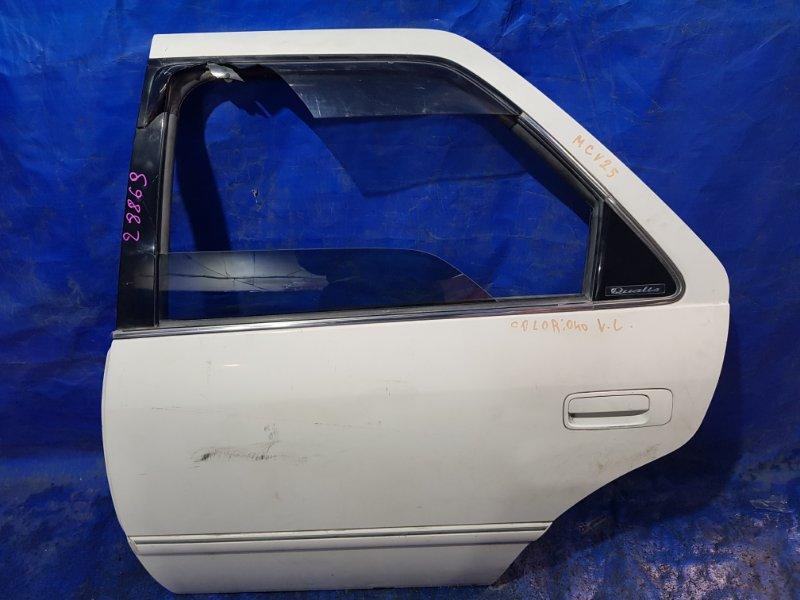 Дверь Toyota Mark Ii Qualis SXV20 задняя левая (б/у)