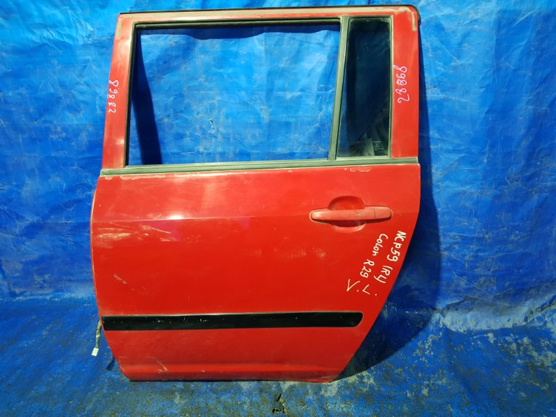 Дверь Toyota Succeed NCP51 задняя левая (б/у)