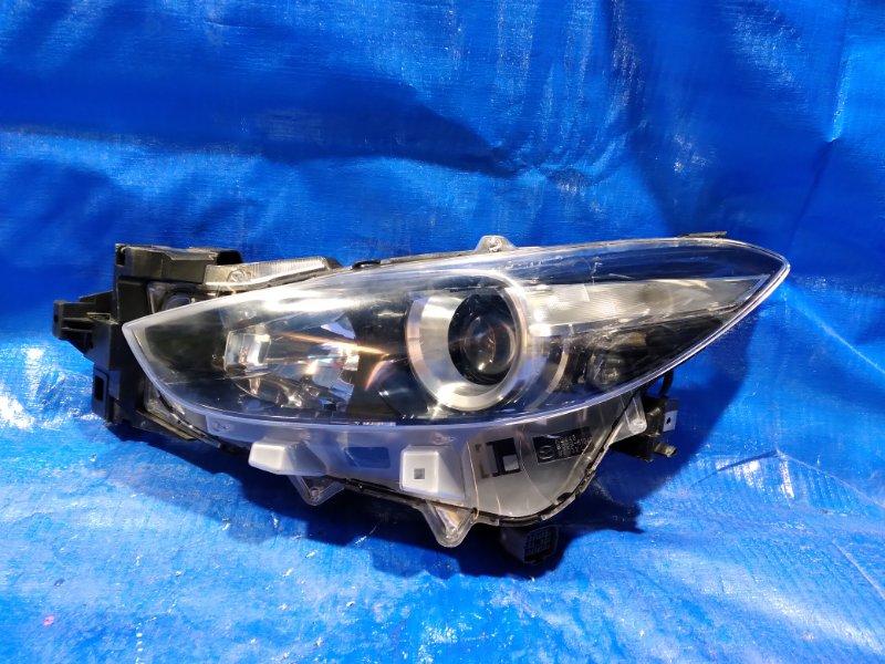 Фара Mazda Axela BM передняя левая (б/у)