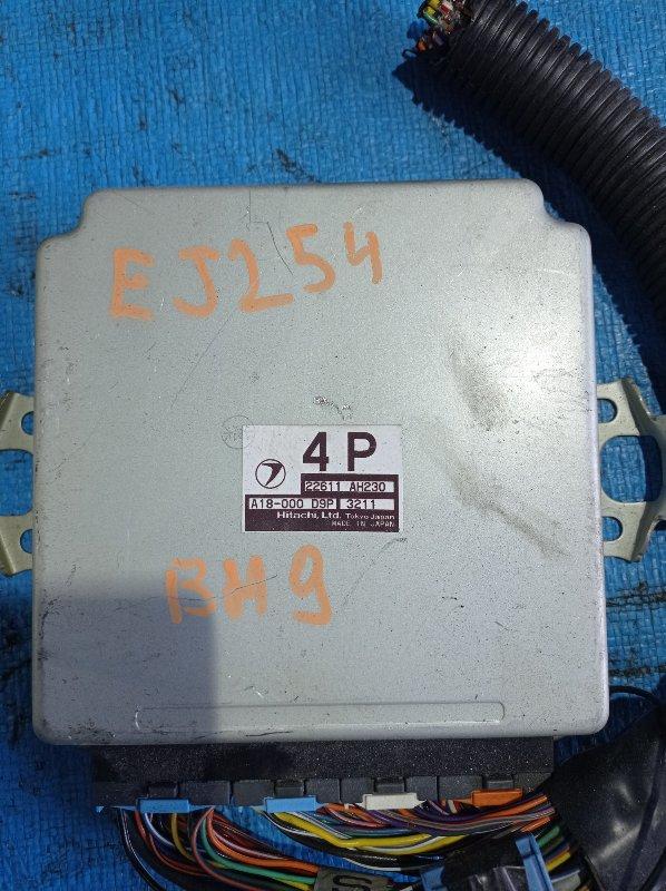 Блок efi Subaru Legacy BH9 EJ254 (б/у)