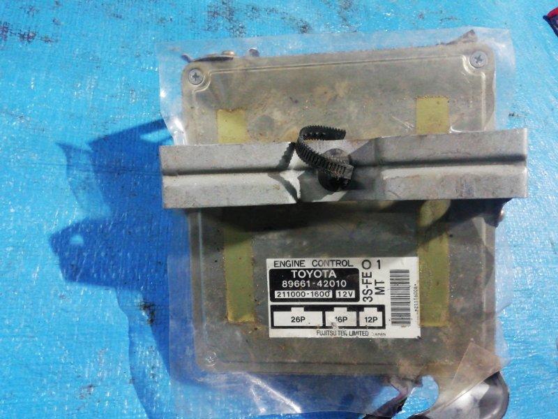 Блок efi Toyota Rav4 SXA10 3S-FE (б/у)