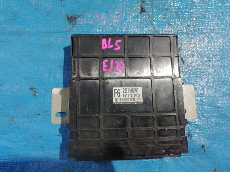 Блок efi Subaru Legacy BL5 EJ20 (б/у)