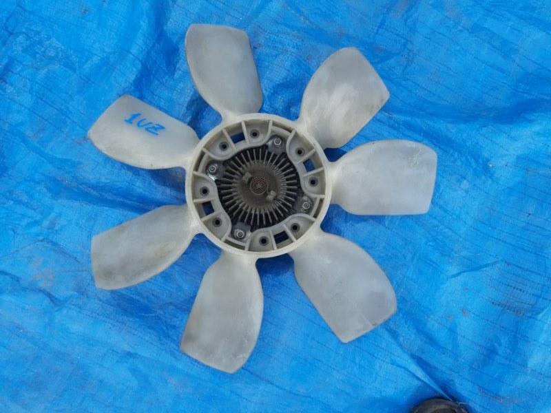 Вентилятор с вязкостной муфтой Toyota Celsior UCF21 1UZ-FE (б/у)