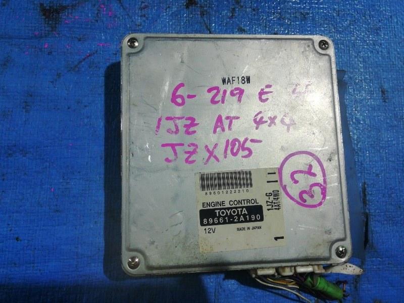 Блок efi Toyota Mark Ii JZX105 1JZ-GE (б/у)