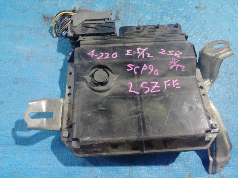 Блок efi Toyota Vitz SCP90 2SZFE (б/у)