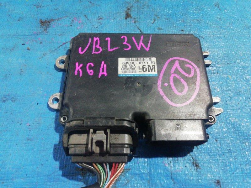 Блок efi Suzuki Jimny JB23W K6A (б/у)