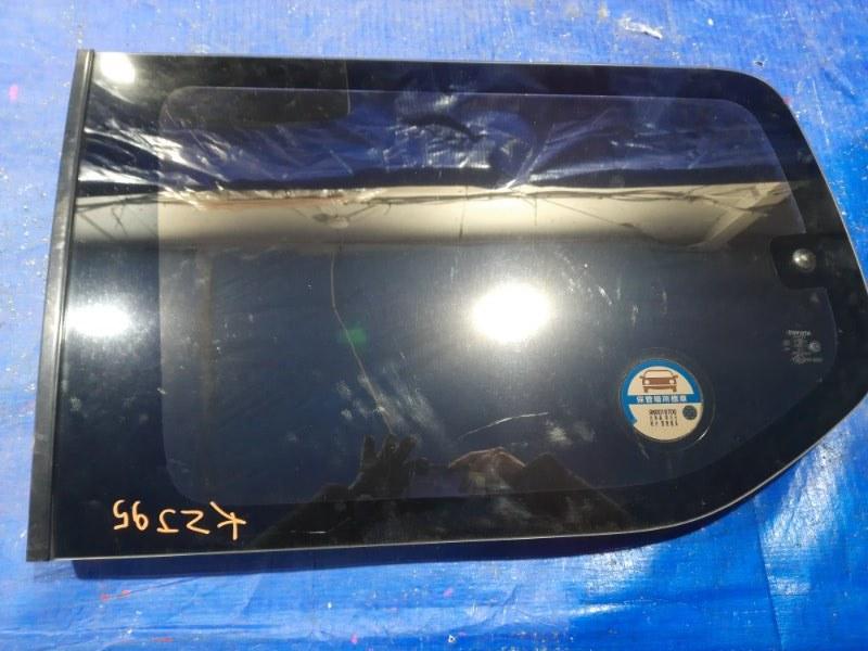 Стекло собачника Toyota Land Cruiser Prado KZJ95 заднее левое (б/у)