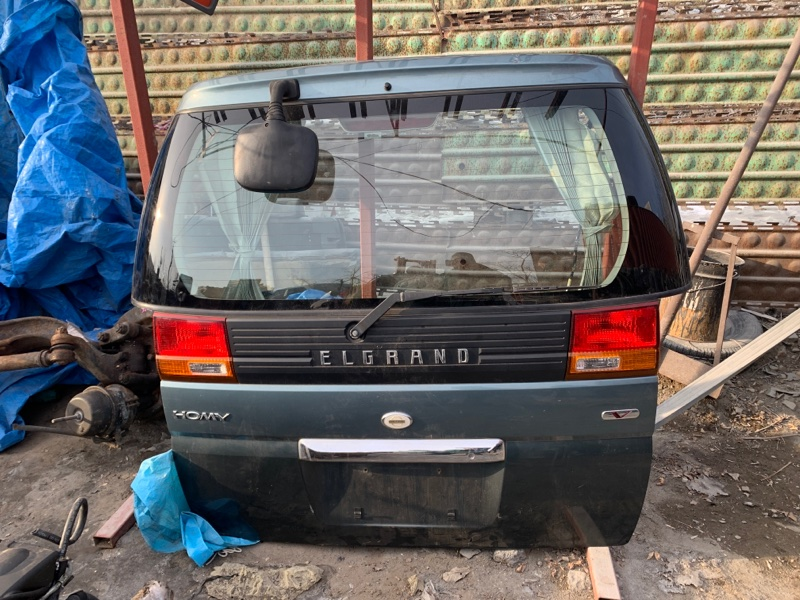 Дверь 5-я Nissan Elgrand E50 (б/у)