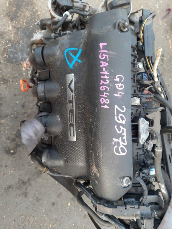 Двигатель Honda Fit GD4 L15A (б/у)