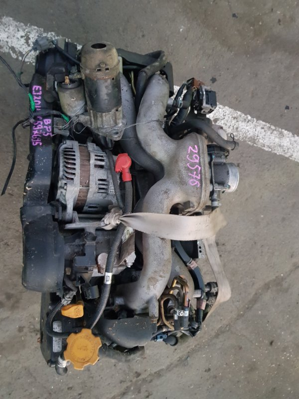 Двигатель Subaru Legacy BP5 EJ204 (б/у)