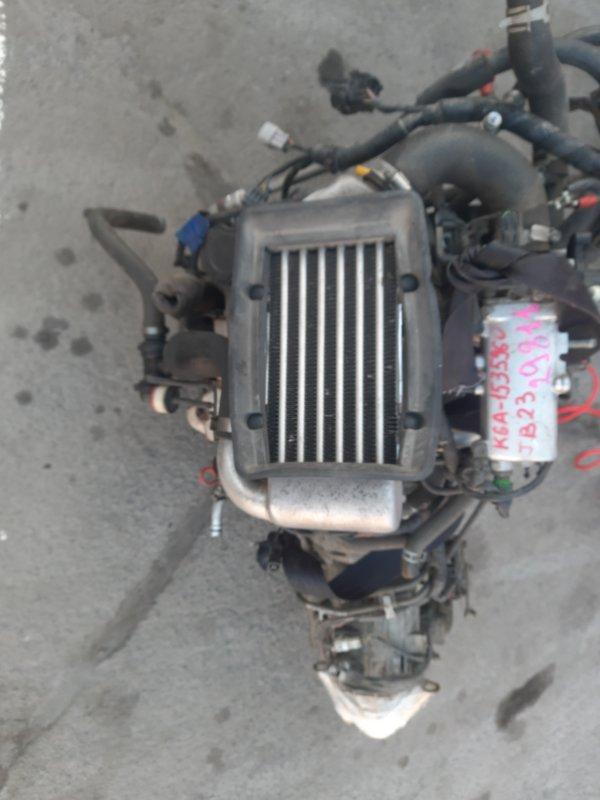 Двигатель Suzuki Jimny JB23W K6A (б/у)