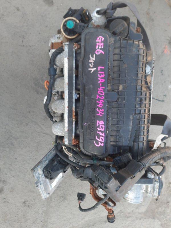 Двигатель Honda Fit GE6 L13A (б/у)