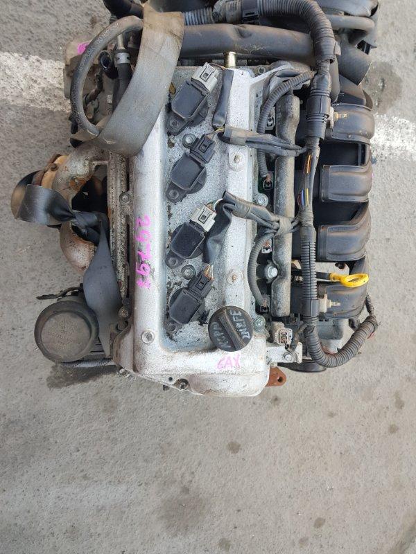 Двигатель Toyota Vitz NCP10 2NZFE (б/у)