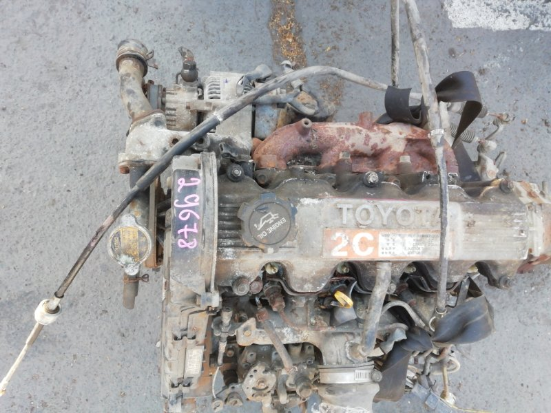 Двигатель Toyota Town Ace CR21 2C (б/у)