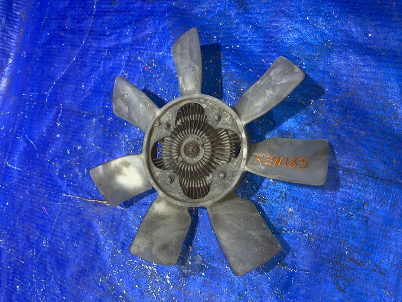Вентилятор с вязкостной муфтой Toyota Hilux Surf RZN185 3RZ (б/у)