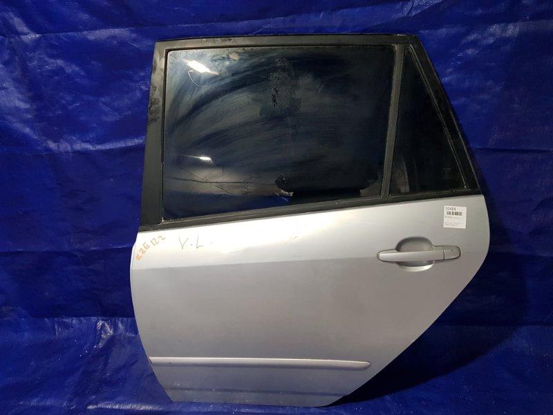 Дверь Toyota Corolla Spacio ZZE122 задняя левая (б/у)