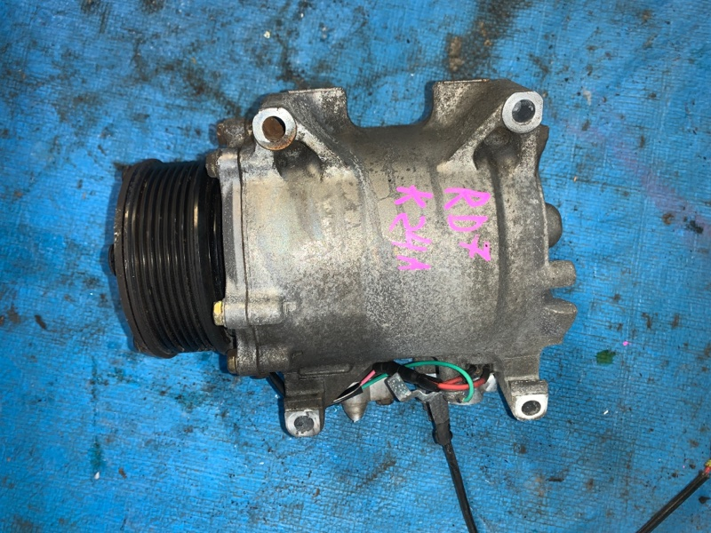 Компрессор кондиционера Honda Cr-V RD7 K24A (б/у)
