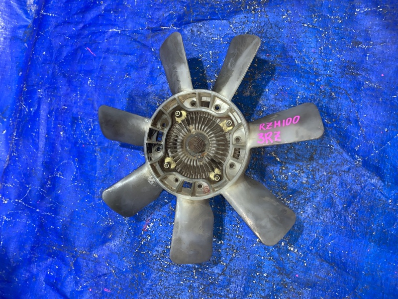 Вентилятор с вязкостной муфтой Toyota 3RZ (б/у)