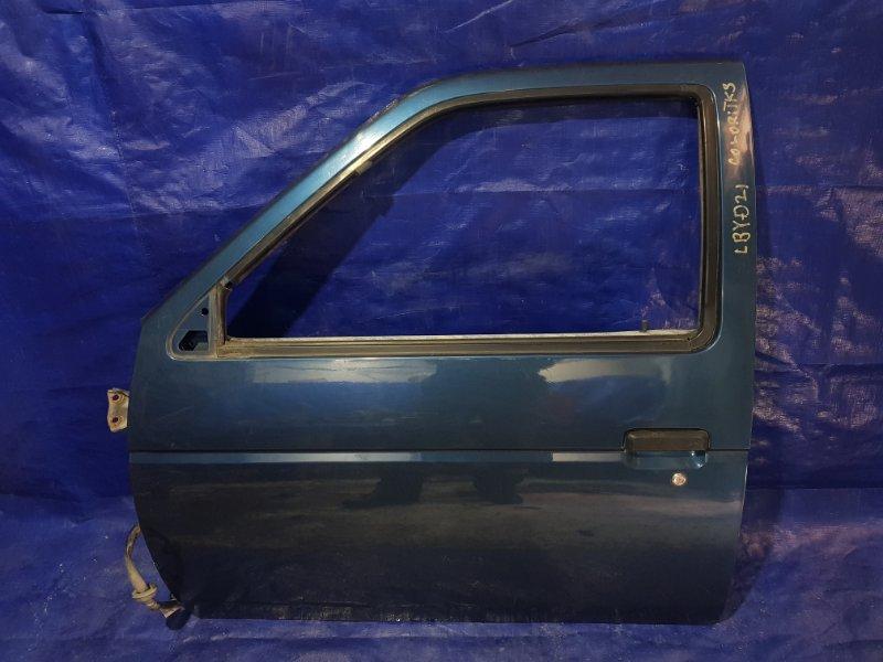 Дверь Nissan Terrano LBYD21 передняя левая (б/у)