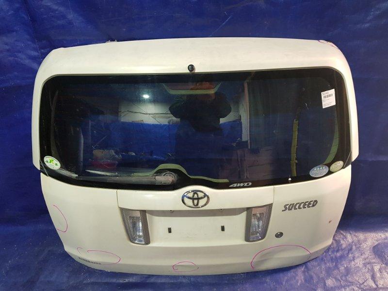 Дверь 5-я Toyota Succeed NCP55 (б/у)