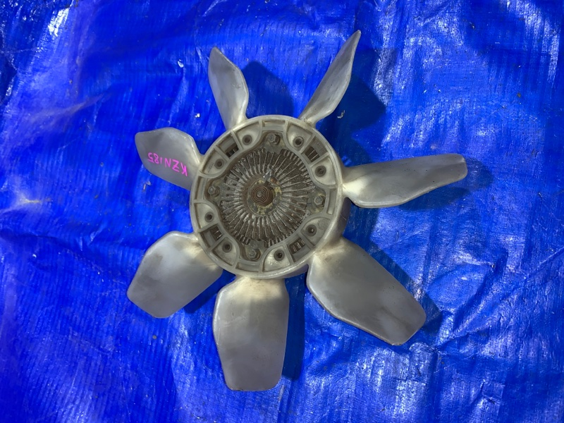 Вентилятор с вязкостной муфтой Toyota Hilux Surf KZN185 1KZ (б/у)