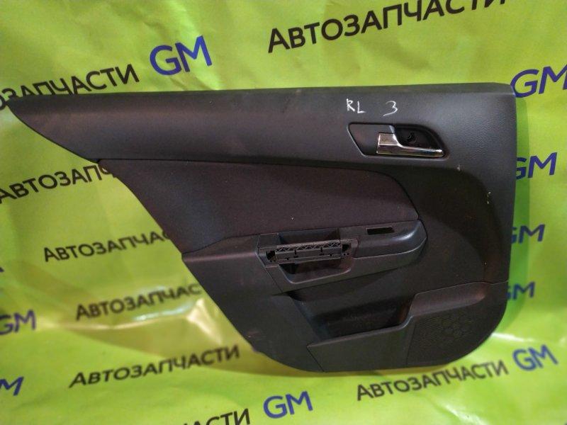 Обшивка двери Opel Astra L48 Z16XER 2012 задняя левая (б/у)