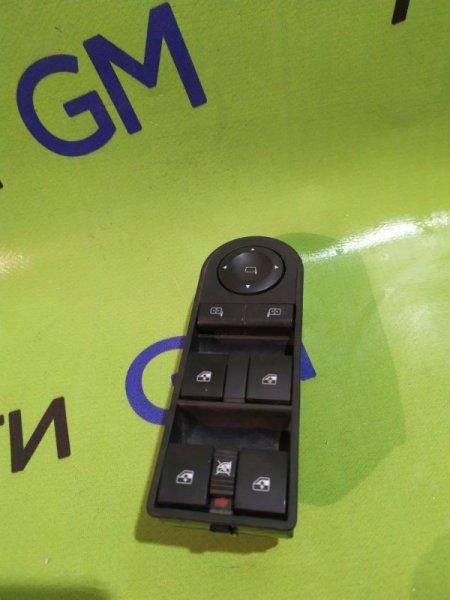 Кнопка стеклоподъемника Opel Astra L48 Z16XER 2012 передняя левая (б/у)