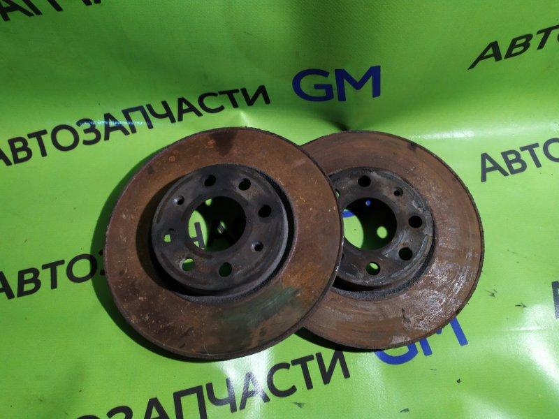 Тормозной диск Opel Corsa D Z14XEP 2008 передний (б/у)