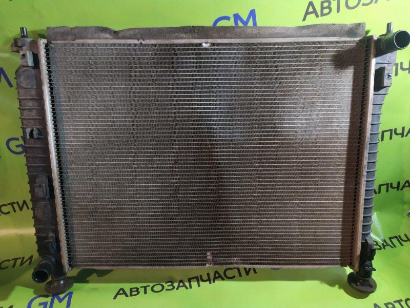Радиатор двс Chevrolet Captiva C140 LE9 2014 (б/у)