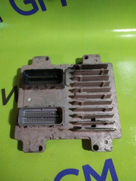 Блок управления двигателем Chevrolet Captiva C140 LE9 2014 (б/у)