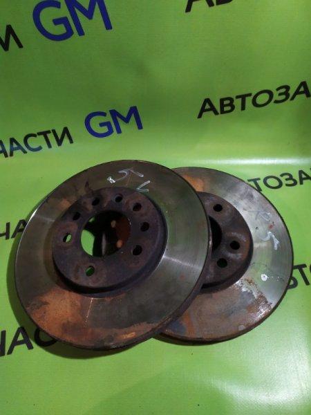Тормозной диск Opel Astra L69 Z16XER 2009 передний (б/у)