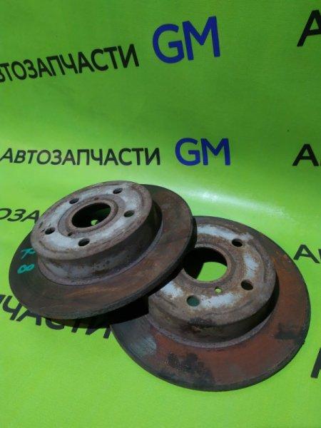 Тормозной диск Geely Emgrand Ec7 FE-1 JL4G18 2012 задний (б/у)