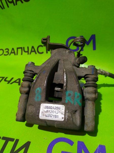 Суппорт Geely Emgrand Ec7 FE-1 JL4G18 2012 задний правый (б/у)