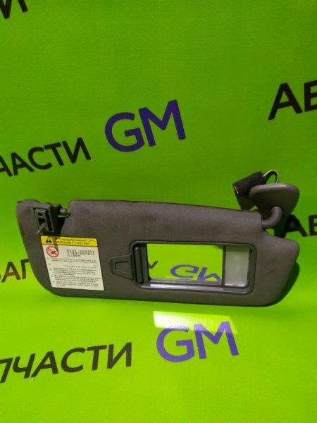 Козырек солнцезащитный Geely Emgrand Ec7 FE-1 JL4G18 2012 передний правый (б/у)