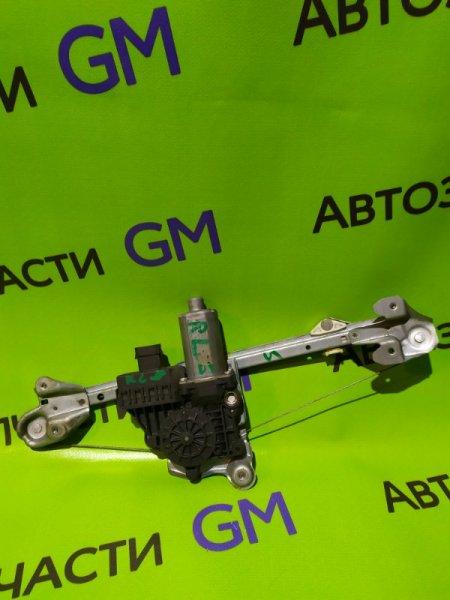 Механизм стеклоподъемника Opel Astra L69 Z16XER 2009 задний левый (б/у)