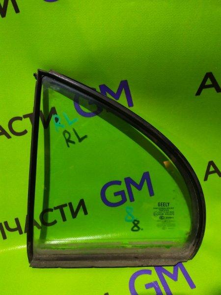 Форточка двери Geely Emgrand Ec7 FE-1 JL4G18 2012 задняя левая (б/у)