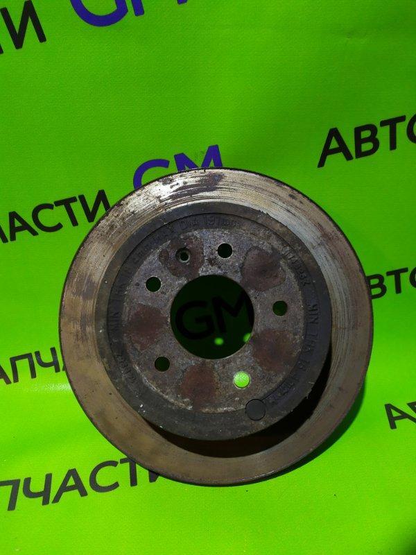 Тормозной диск Chevrolet Captiva C140 LE9 2014 задний (б/у)