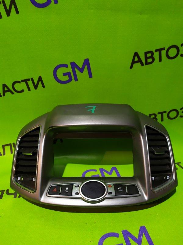 Накладка панели приборов Chevrolet Captiva C140 LE9 2014 (б/у)