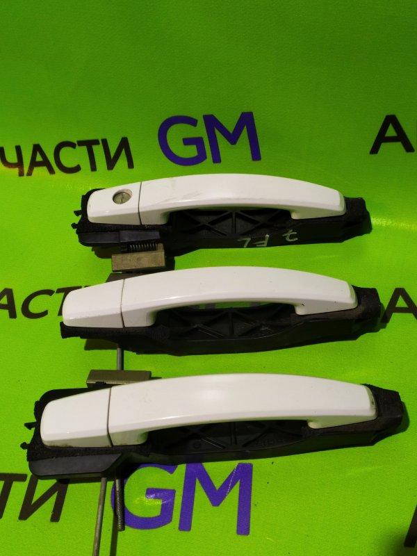 Ручка двери внешняя Chevrolet Captiva C140 LE9 2014 задняя правая (б/у)